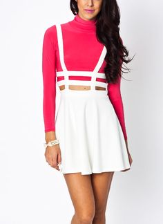 strappy overall dress $29.95