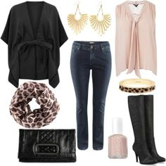 Plus Size Outfits with Boots | Cape & Boots - Plus Size - Polyvore