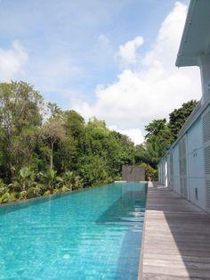 Bit of sun and pool @ Larkhill Terrace, Amara Sanctuary Resort Sentosa, Singapore