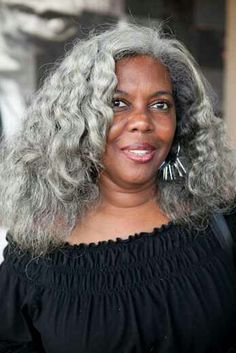 Outstanding Black Women With Gray Hair Styles Bing Images Going Gray Short Hairstyles Gunalazisus