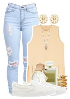"""Backkkkk!!"" by toomallzz ❤ liked on Polyvore featuring CC, Kate Spade, Uniqlo, Forever 21 and Pamela Love"