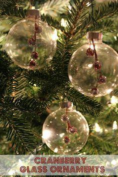 Diy mercury glass christmas ornaments glass christmas ornaments ten june diy cranberry glass ornaments solutioingenieria Choice Image