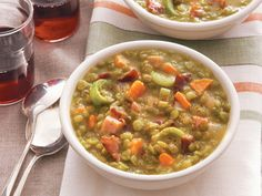 """Split Pea Soup With Ham From 'Lighten Up, America!'   Serious Eats: Recipes - Mobile Beta!"""""""