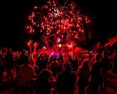Illuminations in Red - Epcot at @Walt Disney World