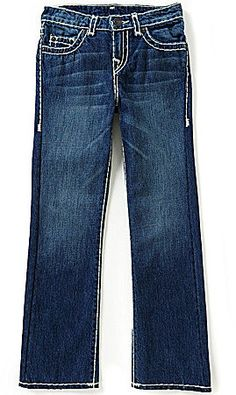 True Religion Big Boys 8-20 Ricky Straight-Fit Jeans