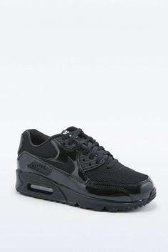 buy popular 1a96f 907c3 Nike Air Max 90 Premium All Black Calzado Masculino, Zapatillas De Deporte  Aire Max,