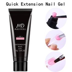 Uv Nails, Nail Gel, Beauty Care, Beauty Makeup, Clear Acrylic Nails, Gel Tips, Uv Led, Beauty Essentials, Smell Good