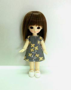 Azone Picconeemo Outfits Loose Collar Summer Knit Grey 1//12 Fashion Doll