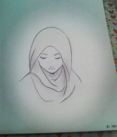 #Muslimah #hijab #sketches