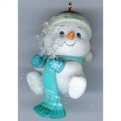 Little Frostee Carlton Heirloom Collection Christmas Ornament 1989 MIB || Available for sale via the pin's link.