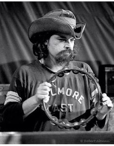 """Ron McKernan, """"Pigpen"""", founding member of US west coast psychedelic rock band Grateful Dead, at The Family Dog - Feb 1970 Photo © Altman: all rights Missing Man Formation, John Perry Barlow, Jimi Hendricks, Phil Lesh And Friends, Fillmore West, Bob Weir, Dead And Company, Joe Cocker, Allman Brothers"""