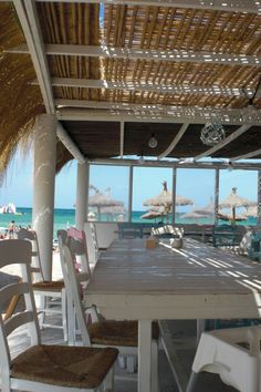 Blue Beach Bar, ein muss... Platja de Can Picafort in C'an Picafort, Islas Baleares