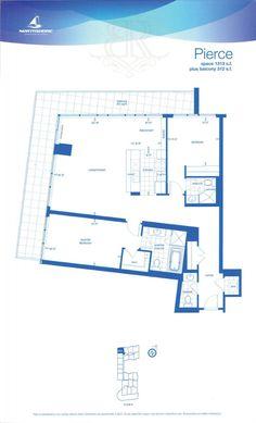 1 Hurontario Street - Floor Plans - 2 Bedroom