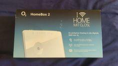 o2 Wlan Router Homebox 2 VDSL Modem 6641 - Neu
