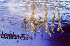 Olympics London 2012 Synchronized Swimming Team - Spain - Bronze Medal