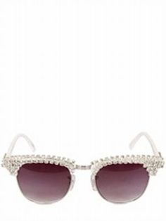 Koh Samui Loves ...  A-MORIR Small Crystal Pave' Sunglasses