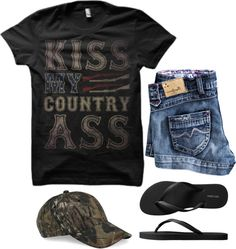 Love this! For more Cute n' Country visit… Cute Country Outfits, Country Girl Style, Cute N Country, Country Fashion, Country Music, Country Concerts, Country Life, Country Attire, Country Wear
