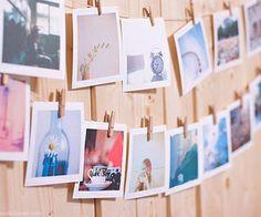 hanged photos
