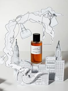 """IN STYLE,UK, """"Where will the fragrance take you?"""", photograph by Victoria Zschommler, pinned by Ton van der Veer Pos Display, Display Design, Store Design, Pos Design, Graphic Design, Stop Rayon, Perfume Display, Cosmetic Display, Shop Window Displays"""