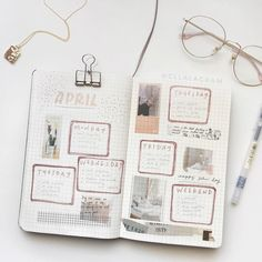 Nena from TIJN optical eyewear collection. //By: Nena from TIJN optical eyewear collection. Bullet Journal Banner, Bullet Journal 2019, Bullet Journal How To Start A, Bullet Journal Notebook, Bullet Journal Layout, Bullet Journal Ideas Pages, Bullet Journal Inspiration, Book Journal, Household Notebook