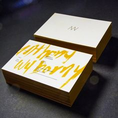Anthony Wyborny : Lovely Stationery . Curating the very best of stationery design