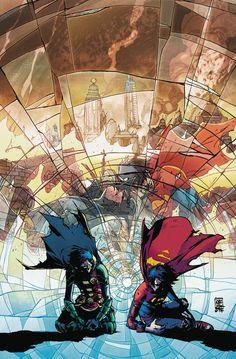 Something Marvel? Something Dc? Bit of both! Batman Art, Batman And Superman, Superman Symbol, Superman Logo, Damian Wayne, Marvel E Dc, Marvel Comics, Super Sons, Fanfiction
