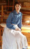 Prairie Dress and Nightgown Pattern Folkwear 201 Ajustable for all Sizes - http://sewingpins.net/sewing/sewing-patterns/prairie-dress-and-nightgown-pattern-folkwear-201-ajustable-for-all-sizes/