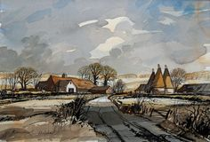 Rowland Hilder - His most sought after subject, beautiful!