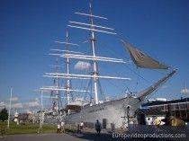 Swan of Finland (Suomen Joutsen) museum ship in Turku in Finland