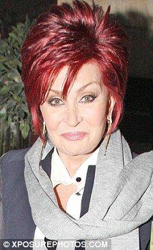 The Beautiful Sharon Osbourne! Sharon Osbourne Hair, Kelly Osbourne, Ozzy Osbourne, Short Grey Hair, Short Hair Cuts, Short Hair Styles, Cute Hairstyles, Braided Hairstyles, Layered Hairstyles