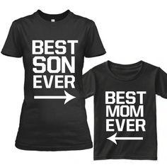 Madre hijo juego camisas mamá y yo juego trajes mamá y bebé