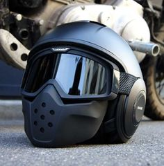 Looking for a badass motorcycle helmet? Motorcycle helmets are not required by law in all states, which gives you some very cool options. Badass Motorcycle Helmets, Modular Motorcycle Helmets, Cool Motorcycles, Women Motorcycle, Vintage Motorcycles, Victory Motorcycles, Bike Helmets, Tmax Yamaha, Vrod Custom