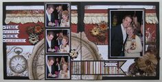 Bo Bunny Double Scrapbook Layout