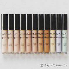 Great drugstore concealer! Medium coverage, but if layered on too much it can crease. There is a wide variety of colors including a shade that is fabulous for very fair skin. They are under $5 4/5-5/5 stars