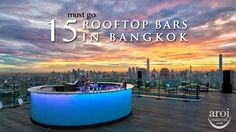 Must Go Rooftop Bars in Bangkok! It's something that you should visit for your trip. At every Rooftop Bar, they offer magnificent views of either 360 view of the city or Chao Phraya River. Imagine yourself being at the top of Bangkok enjoy your cocktail and at the same time taking photos of yourself against