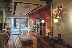 Onitsuka Tiger store design and brand activation campaign by Storeage, Amsterdam