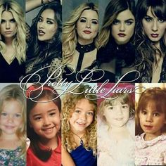 The Girls Then and Now