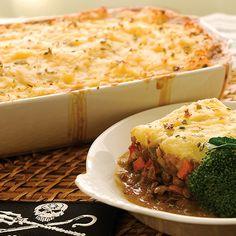 Sea Shepherd's Pie from Cookin' Up a Storm - Dianne's Vegan Kitchen