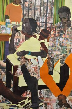 Women In Art History — Njideka Akunyili Crosby African American Art, African Art, Anime Comics, Vincent Van Gogh, Appropriation Art, Romare Bearden, Feminist Art, Afro Art, Human Art