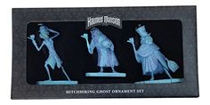 Haunted Mansion Hitchhiking Ghosts Ornament Set of 3 - Disney Parks: Hitchhicking ornament Hitchhiking Ghosts, Disney Christmas Ornaments, Haunted Mansion, Disney Pins, Mansions, Halloween, Parks, Disney Christmas Decorations, Fancy Houses