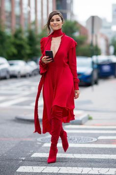 Here's How to Wear Red From Head to Toe Like a Style Star- Tap the link now to see our super collection of accessories made just for you