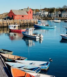 "Cape Ann, Mass., has been home to bustling fishing ports since the 17th century. (From: Photos: New England's ""Other"" Capes)"