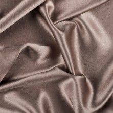 Cappuccino Silk Crepe Back Satin