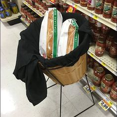 If searching Weis for true Spaghetti Sauces, how convenient to find the store locates an Italian Wicker Bread Basket in the Italian Aisle for easy purchase. Italian Olives, Wicker, Bakery, Retail, Bread, Brot, Baking, Breads, Buns