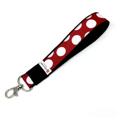 I have a feeling you'll like this one  Red and sparkly white dot mini key tag, famous mouse bag swag, new driver gift, small key fob, half size zipper charm, mini keychain https://www.etsy.com/listing/461991431/red-and-sparkly-white-dot-mini-key-tag?utm_campaign=crowdfire&utm_content=crowdfire&utm_medium=social&utm_source=pinterest