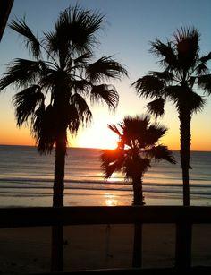 Sunset California Beach