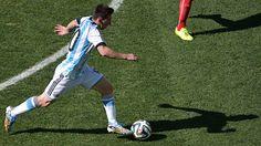 Avanza Lio.. Argentina 1 Suiza 0 .......... Gol de Di Maria..... en tiempo suplementario..... 1 julio de 2014.. octavos de final..  Estadio Arena Corinthias ... San Pablo.. Brasil.
