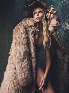 Natasha Poly by Iango Henzi + Luigi Murenu for Vogue Germany October 2014 _