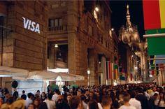 Visa @ Vogue Fashion Night Out Milano #VFNO #MWF #VISA