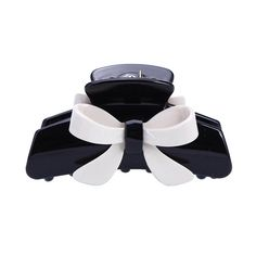 Korean Beauty Acrylic Butterfly Jaw Clip Women Barrette Black White Hair Claw Claws -- Click image for more details.